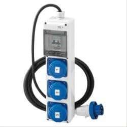 q-din 5ASC: 3Ste. IEC309+ Kabel