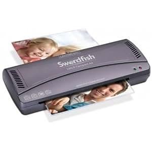 SWORDFIS Swordfish Home Office A4 Laminator 230LR Plus 100 A4 150 Micron Laminating Pouches Bundle