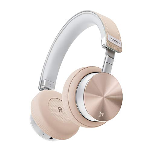 VONMÄHLEN - Wireless Concert One Bluetooth Kopfhörer On-Ear in Rose Gold - Reise-Case, Micro-USB, Aux Kabel, Kabelmanagement - Design Kopfhörer kabellos Gold Bluetooth