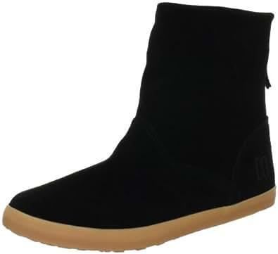 DC Shoes VERONIQUE D0320095, Damen Fashion Halbstiefel & Stiefeletten, Schwarz (BLK/BLK/GUM KKGD), EU 36 (US 5)