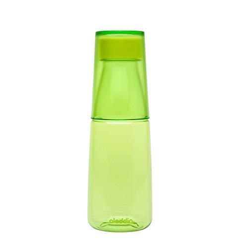 Aladdin 31811 Crave Bouteille avec 1 verre 0,5 l, vert, 500 ml