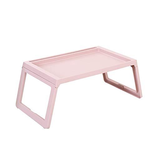 PENGFEI Tische Laptop Schreibtisch Tragbar Fauler Kleiner Esstisch Kunststoff, 5 Größen (Farbe :...
