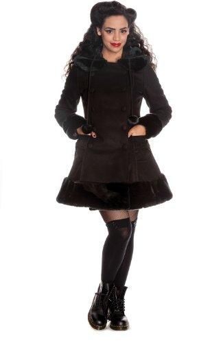 Hell Bunny Schwarz Sarah Jane Coat L - EU 42