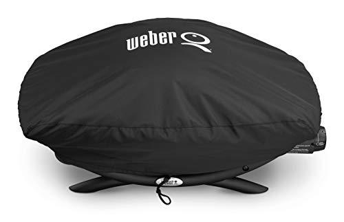 Weber Abdeckhaube für Q 200/220 / Q240, schwarz, 27,9 x 25,4 x 23,6 cm, 7118