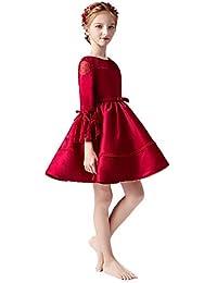 51fff0765c66f YONGMEI Costume De Piano Robe De Soirée De Défilé pour Enfant (Couleur    Red