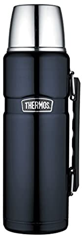 Thermos Stainless King Flask,, 1.2 L - Midnight Blue