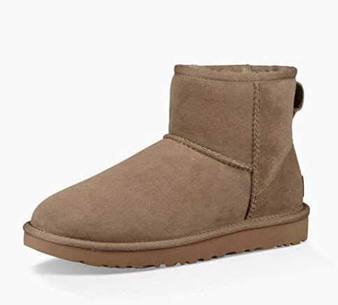 UGG Damen Mini Classic Hohe Sneakers, Antilope, 40 EU (Antilope-größe 6)