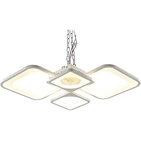 Tengxin Las luces del techo en forma moderna de habitación Luminarias Para la lámpara del accesorio TX3596X / 4