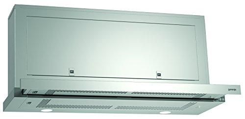 Gorenje BHP 923 E8X Flachschirmhaube / 90 cm / Ab- oder Umluftbetrieb möglich / Anti-Fingerprint-Beschichtung, edelstahl