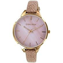 Reloj Bilyfer para Mujer con Correa en Rosa y Pantalla en Rosa 1F641-R
