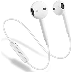 Auriculares Bluetooth 4.2 Inalámbricos Auriculares Deportivos con Cancelación de Ruido y Sweatproof Incorporado Micrófono para los teléfonos Inteligentes y Otros Dispositivos Bluetooth