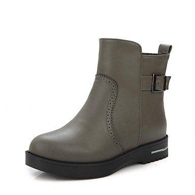 RTRY Donna stivali Comfort Novità Cowboy / Western stivali Snow Boots Sella moda Stivali Stivali Stivali moto Bootie combattere Bootspatent US8.5 / EU39 / UK6.5 / CN40