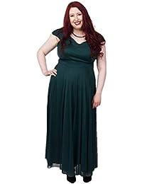 b1fea4cb128 Scarlett   Jo Off The Shoulder Wrap Maxi Dress Sizes 10-32