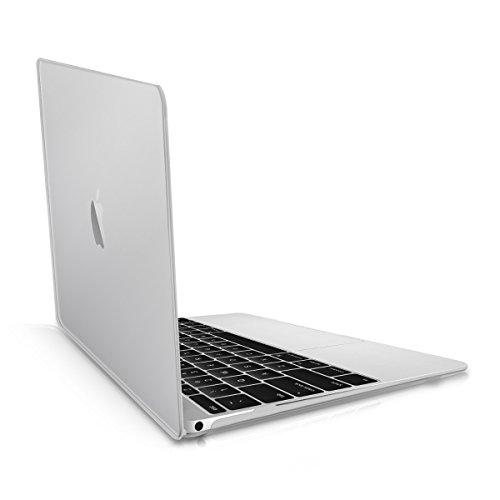 """Laptop Hülle für Apple MacBook 12"""" (ab 2015) - kwmobile Crystal Laptopschutzhülle Cover Case Transparent - Transparente Notebook Schutzhülle Tasche"""
