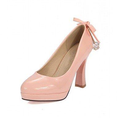 Moda Donna Sandali Sexy donna tacchi Primavera / Estate / Autunno / Inverno tacchi / Piattaforma / Novità / cinturino alla caviglia / Punta Pink