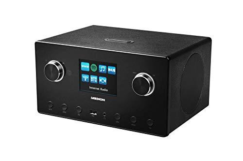 MEDION P85096 WLAN Internet-Radio mit 2.1 Sound-System