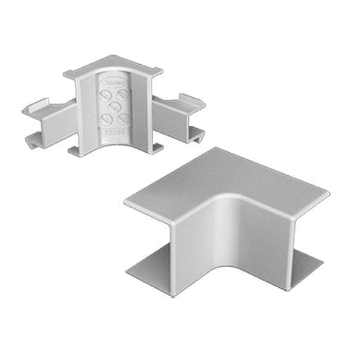Unex 73332–04U24X Winkel innen, grau, 60mm Höhe x Breite 90mm