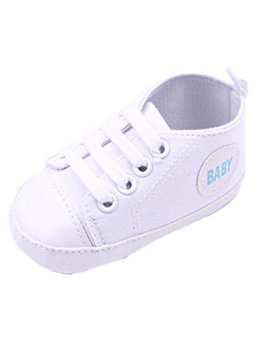 YICHUN , Baby Mädchen Lauflernschuhe violett Weiß