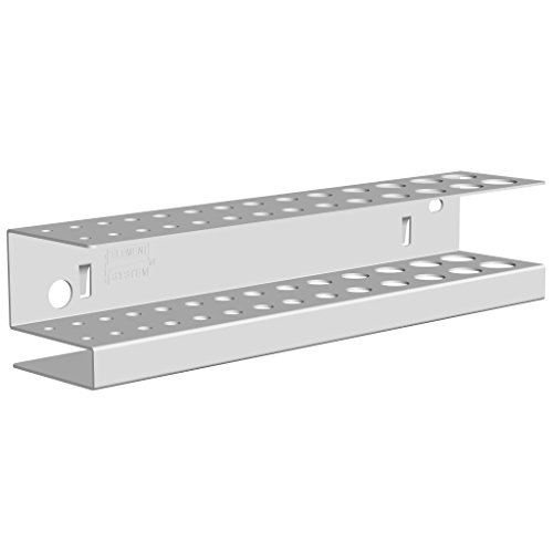 Element System 11413-00002 Support mèches/forets 188 x 40 x 40 mm Blanc