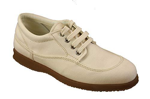 Hogan Damen Schuhe Traditional Canvas Gr. 36 Schnürschuhe