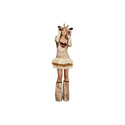 Giraffekostüm Kostüm Giraffe f Damen sexy Damenkostüm Tierkostüm 32-42, ()