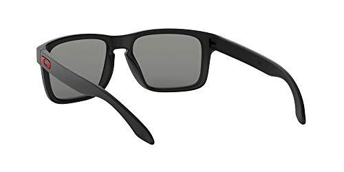Oakley Holbrook - Gafas de sol, Unisex, Multicolor (Negro Mate/Positive Red), Talla única