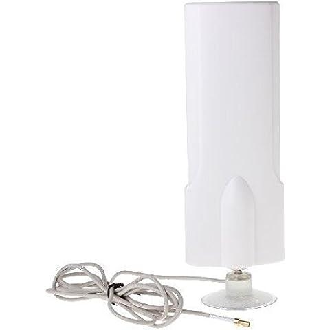 4G Antena (25dBi) para Huawei ZTE dongle USB y el módem wifi móvil con conector TS9 (Huawei E5776 E5786 E5372 E5332 E3276 E589 E397 E398 E392 ZTE MF80 MF821D 633BP 645 668) (4G 25dBi TS9)