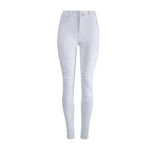 Bolawoo jeans pantaloni 2018 pantaloni donna jeans pantaloni jeans allenamento lunghi pantaloni jeans mode di marca a vita alta pantaloni bucati jeans jeans pantaloni strappati vita alta matita