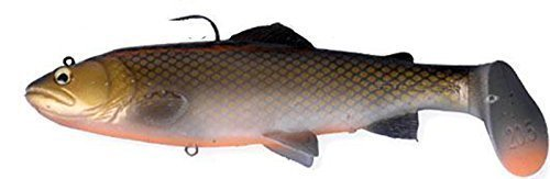 Savage Gear 3D Trout Rattle Shad Gummifische, Farbe:Dirty Roach;Länge / Gewicht /Schwimmverhalten:20.5cm / 120g / moderate sinkend