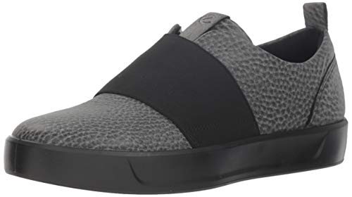 ECCO Damen Soft 8 Ladies Sneaker, Schwarz (Black 1001), 39 EU