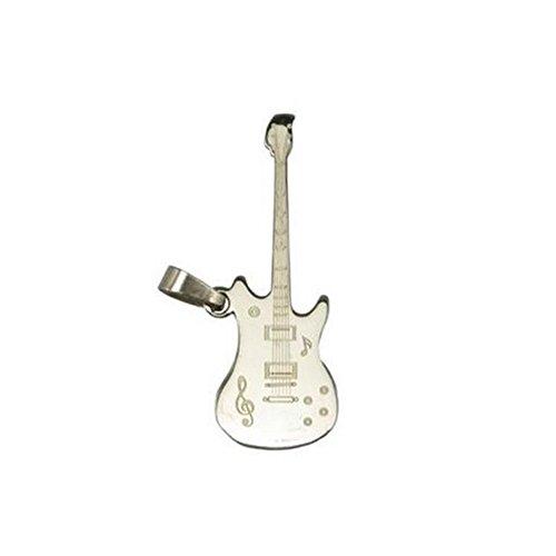 ciondolo-da-uomo-in-acciaio-inossidabile-motivo-chitarra-gioiello-nuovo
