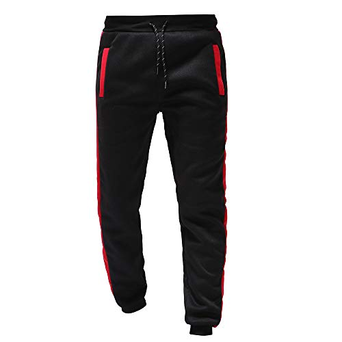 ZARLLE_Pantalones Pantalones Chandal Hombre, Hombre Invierno termicas Originales de Casuales Jogger Sweatpant...