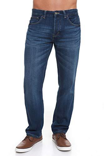 CrossHatch Men Jorge Jeans Mid Wash 38W X 32L