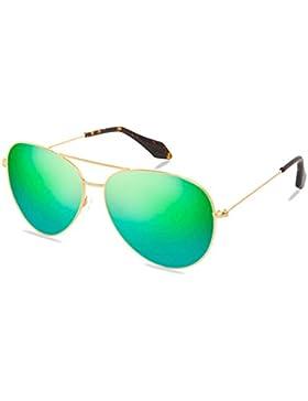 Gafas de sol polarizadas de las señoras/Espejo de moda unisex/Gafas de sol retros coloridos