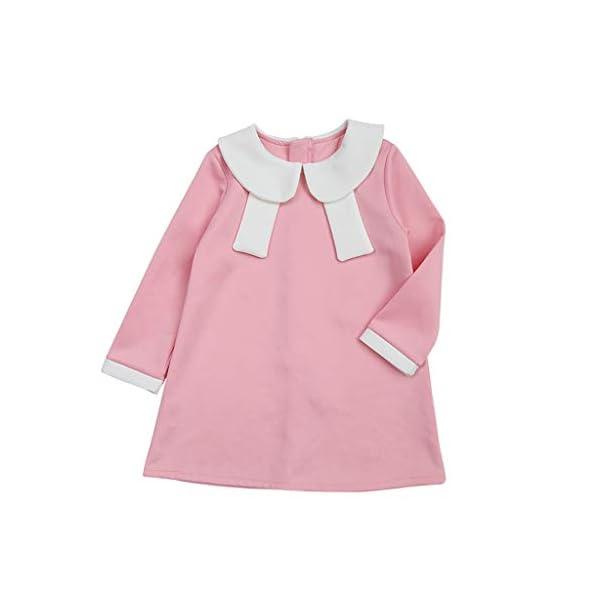 Heetey - Conjunto de Ropa y Abrigo para niña, con Forma de bebé, para Ocasiones Informales, con diseño de Encaje Normal… 1