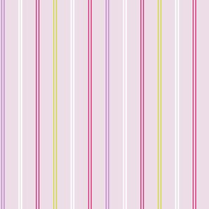 Hoopla Decorline Hoopla Multi Coloured Stripe Wallpaper Lilac DL30740