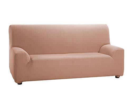 Martina Home Tunez - Funda elástica para sofá, Salmón, 3 Plazas (180-240 cm)