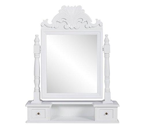 Tocador-Mesa-de-Maquillaje-Con-Espejo-Giratorio