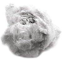 Primaflor - Ideen in Textil 1kg Bastelwatte Polyesterhohlfasern Watte Kissenfüllung Bastelwatte Füllwatte, Füllung für Kissen, Sitzsäcke und Stofftiere