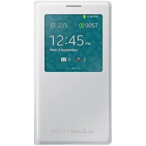 Samsung S-View - Funda para Samsung Galaxy Note 3 Neo, color blanco