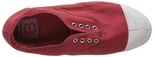 Bensimon F15149C159, Scarpe da Ginnastica Basse Donna Rosso (Rosso)