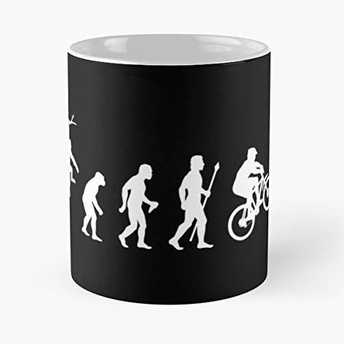 Mountain Bike Evolu Best Gift Ceramic Coffee Mugs -