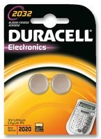 Duracell Specialties 2032 – Piles non rechargeables (Bouton/pièce, -20–54 °C, CR2032, Lithium)