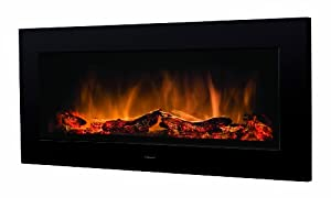 GDC Group Ltd Dimplex SP16 2 KW Wall Mounted Electric Fire - Black