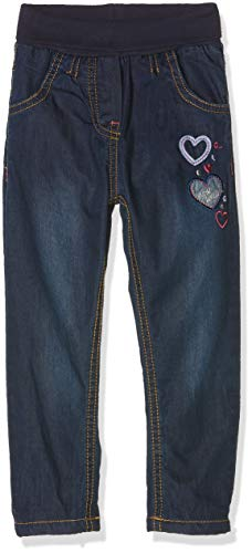 SALT AND PEPPER Baby-Mädchen Jeans B Mon Amie, Blau (Original 099) 86