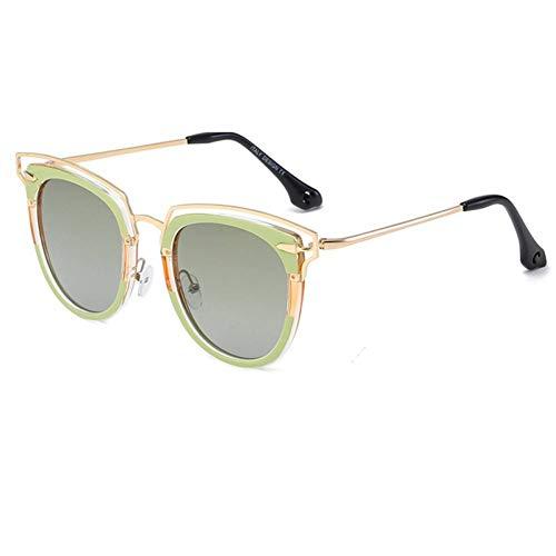 CHJKMN Mode Promi weiblich polarisierte Sonnenbrille Sonnenbrille Street Shot, um die Flut Spiegel weiblich zu erreichen