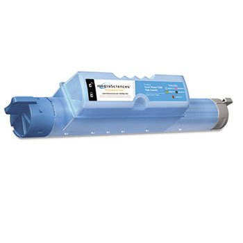 Media Sciences Phaser (MDAMS636CHC Phaser 6360 Compatible, 106R01218 Laser Toner, 12,000 Yield, Cyan, Sold as 1 Each)