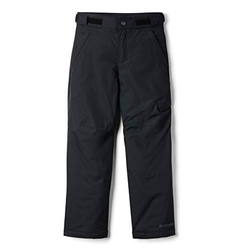 Columbia Wasserabweisende Skihose für Jungen, Ice Slope II Pant, Nylon, Schwarz, Gr. S, 1523671