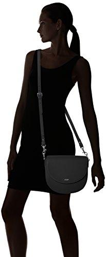 Joop Damen Nature Grain Rhea Shoulderbag Mhf Schultertasche, 5x22x25 cm Schwarz (Black)