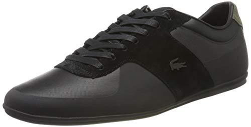 Lacoste Herren Turnier 117 1 CAM1021024 Sneaker, Mehrfarbig (Black 001), 42.5 EU -